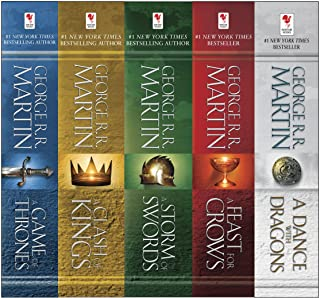 《George R. Martin's A Game of Thrones 5-Book Boxed Set (Song Ice an》George  epub+mobi+azw3 社会学 赖特·米尔斯 第1张